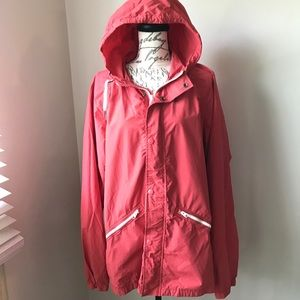 Abercrombie & Fitch Rain Windbreaker Jacket